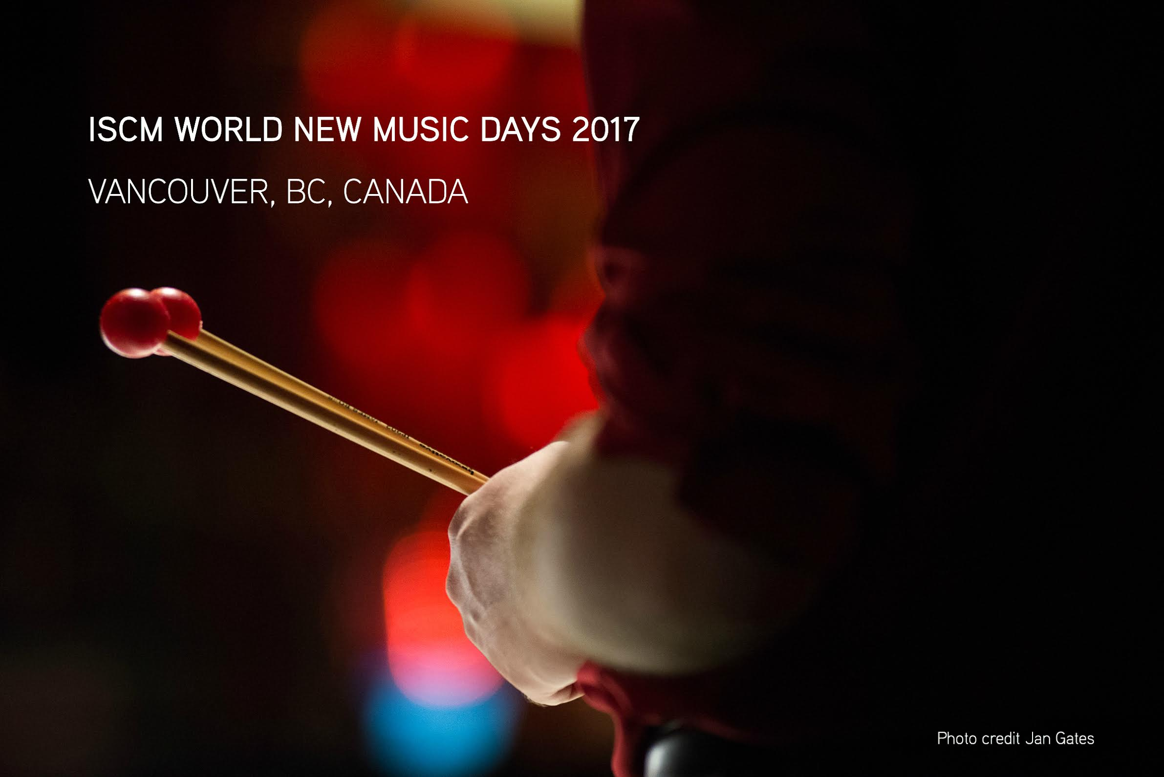Join us in Vancouver for ISCM World New Music Days 2017! Presented by the Canadian League of Composers and Music on Main.